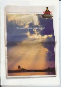 2009 voorjaar Headline spread Adformatie (Calvijn) 2